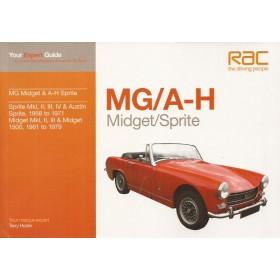MG Midget Austin Healey Sprite Your Expert Guide Benzine T. Horler 1958-1979 ongebruikt Engels