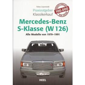 Mercedes-Benz W126 Klassikerkauf T. Zoporowski HEEL Verlag 1979-1991 ongebruikt Duits