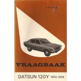 Datsun 120Y Vraagbaak P. Olyslager  Benzine Kluwer 74-78 met gebruikssporen   Nederlands