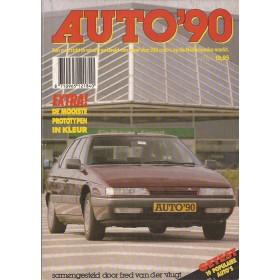 Jaarboek F. van der Vlugt Alle modellen Auto 90 ongebruikt   Nederlands