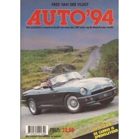 Jaarboek F. van der Vlugt Alle modellen Auto 94 ongebruikt   Nederlands
