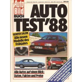 Jaarboek  Alle modellen AutoBild 88 met gebruikssporen Duits