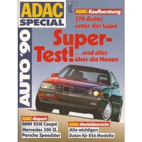 Jaarboek  Alle modellen ADAC Special 90 met gebruikssporen Duits