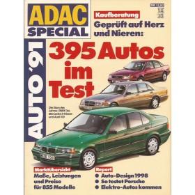 Jaarboek  Alle modellen ADAC Special 91 met gebruikssporen Duits