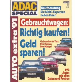 Jaarboek Ocassions Alle modellen ADAC Special 91 met gebruikssporen Duits