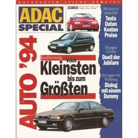 Jaarboek  Alle modellen ADAC Special 94 met gebruikssporen Duits