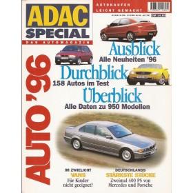 Jaarboek  Alle modellen ADAC Special 96 met gebruikssporen Duits