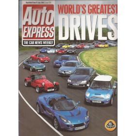 Doordruk Lotus Elise MK2 Auto Express met prijslijst 02 met gebruikssporen Engels