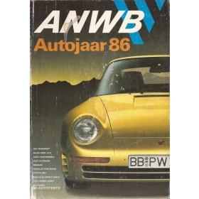 ANWB Autojaar 86, jaarboek, 86, met gebruikssporen, Nederlands