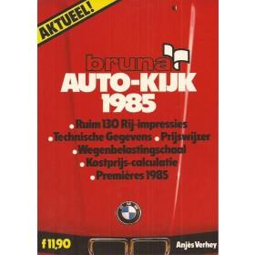 Jaarboek  Alle modellen Autokijk 85 met gebruikssporen   Nederlands