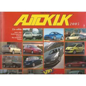 Jaarboek A. Verheij Alle modellen Autokijk 05 ongebruikt   Nederlands