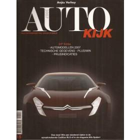 Jaarboek A. Verheij Alle modellen Autokijk 07 ongebruikt   Nederlands