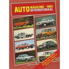 Jaarboek  Alle modellen AutoMagazine 82 ongebruikt   Nederlands