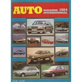 Jaarboek  Alle modellen AutoMagazine 84 ongebruikt   Nederlands