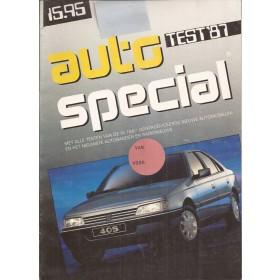 Jaarboek  Alle modellen Autospecial Test 87 met gebruikssporen   Nederlands
