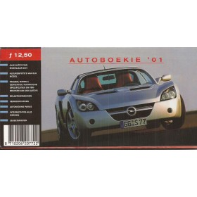 Jaarboek A&A Autoadvies Alle modellen Autoboekie 01 ongebruikt Nederlands