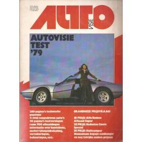 Jaarboek  Alle modellen Autovisie 79 met gebruikssporen   Nederlands