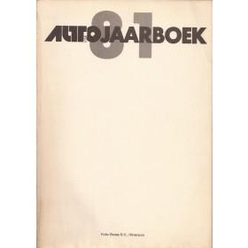 Jaarboek  Alle modellen Autovisie 81 met gebruikssporen voorkaft ontbreekt  Nederlands