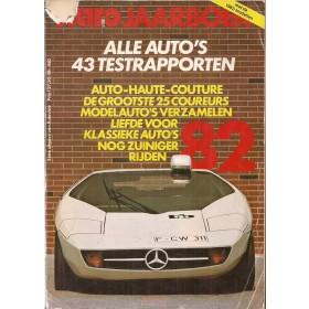 Jaarboek  Alle modellen Autovisie 82 met gebruikssporen achterkaft los  Nederlands
