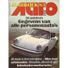 Jaarboek  Alle modellen Autovisie 83 met gebruikssporen   Nederlands