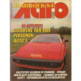 Jaarboek  Alle modellen Autovisie 84 met gebruikssporen   Nederlands
