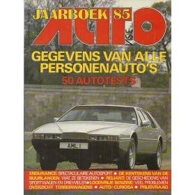 Jaarboek  Alle modellen Autovisie 85 met gebruikssporen   Nederlands