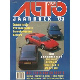 Jaarboek  Alle modellen Autovisie 93 met gebruikssporen   Nederlands