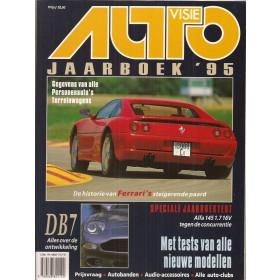 Jaarboek  Alle modellen Autovisie 95 met gebruikssporen   Nederlands