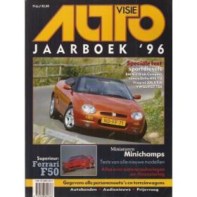 Jaarboek  Alle modellen Autovisie 96 met gebruikssporen   Nederlands