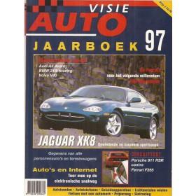 Jaarboek  Alle modellen Autovisie 97 met gebruikssporen   Nederlands