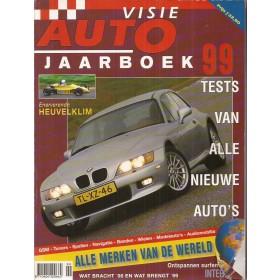 Jaarboek  Alle modellen Autovisie 99 met gebruikssporen   Nederlands