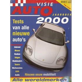 Jaarboek  Alle modellen Autovisie 00 met gebruikssporen   Nederlands