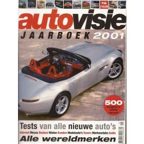 Jaarboek  Alle modellen Autovisie 01 met gebruikssporen   Nederlands