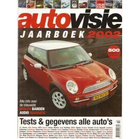 Jaarboek  Alle modellen Autovisie 02 met gebruikssporen   Nederlands