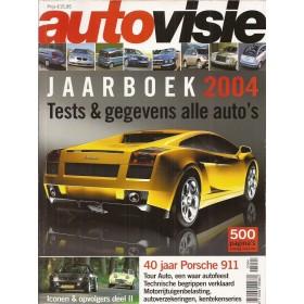 Jaarboek  Alle modellen Autovisie 04 met gebruikssporen   Nederlands