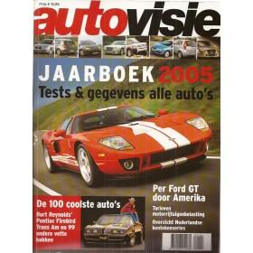 Jaarboek  Alle modellen Autovisie 05 met gebruikssporen   Nederlands
