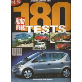 Jaarboek  Alle modellen Autoweek 98 met gebruikssporen   Nederlands