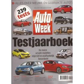 Jaarboek  Alle modellen Autoweek 13 met gebruikssporen   Nederlands