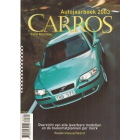 Jaarboek  Alle modellen Carros 03 ongebruikt   Nederlands