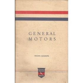 General Motors Dealerlijst  Europa  Fabrikant ca 70 met gebruikssporen Nederlands