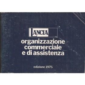 Lancia Dealerlijst Wereld Fabrikant 75 met gebruikssporen Itialians