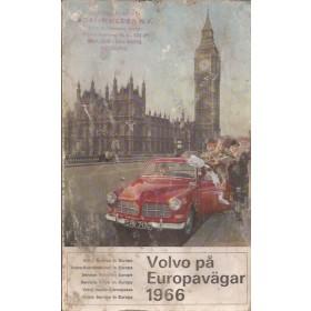 Volvo Dealerlijst  Europa  Fabrikant 1966 met gebruikssporen Engels Nederlands Duits Zweeds Frans Italiaans