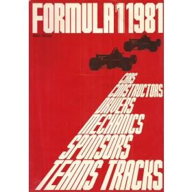 Formule 1 1981, jaarboek, 81, A. Verhey, met gebruikssporen, Nederlands