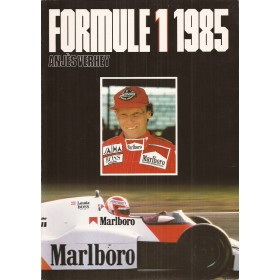 Formule 1 1985, jaarboek, 85, A. Verhey, met gebruikssporen, Nederlands