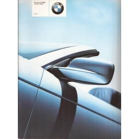BMW 3-serie cabriolet brochure 24 pagina's 00 met gebruikssporen Nederlands