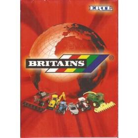 Britains catalogus Ertl 2003 met gebruikssporen Frans/Duits/Engels/Nederlands