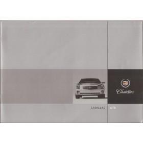 Cadillac CTS brochure 28 pagina's 01 met gebruikssporen Engels