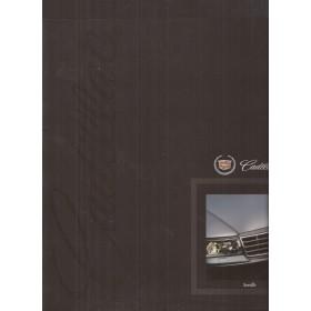 Cadillac Seville brochure 32 pagina's 01 met gebruikssporen Nederlands