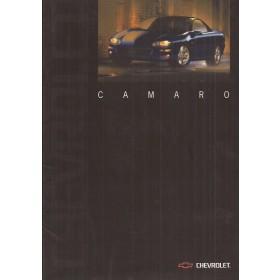 Chevrolet Camaro brochure 24 pagina's 01 met gebruikssporen Nederlands