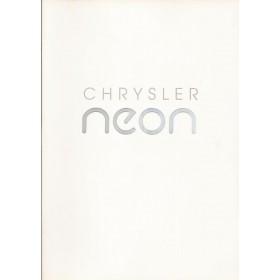 Chrysler Neon brochure 24 pagina's 1994 met gebruikssporen Nederlands